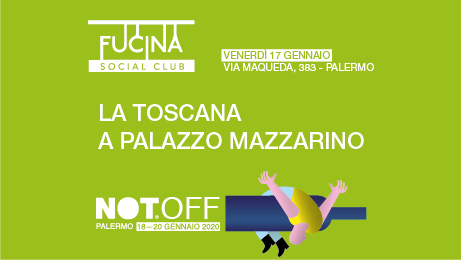 NOT OFF Rassegna Dei Vini Franchi - Palazzo Mazzarino Palermo